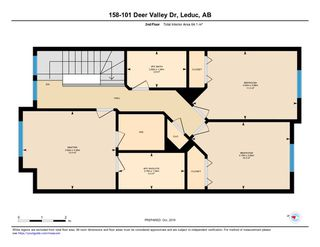 Photo 23: 158 101 DEER VALLEY Drive: Leduc Townhouse for sale : MLS®# E4178331