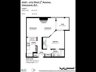 """Photo 3: 208 2175 W 3RD Avenue in Vancouver: Kitsilano Condo for sale in """"SEA BREEZE"""" (Vancouver West)  : MLS®# R2520082"""