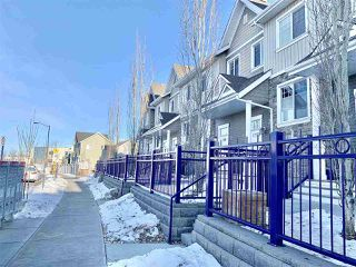 Photo 1: 99 4050 SAVARYN Drive in Edmonton: Zone 53 Townhouse for sale : MLS®# E4224803
