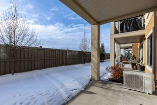 Photo 32: 112 1031 173 Street in Edmonton: Zone 56 Condo for sale : MLS®# E4186625