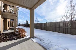 Photo 34: 112 1031 173 Street in Edmonton: Zone 56 Condo for sale : MLS®# E4186625