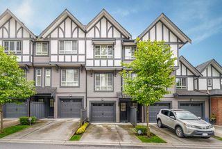 "Main Photo: 56 1338 HAMES Crescent in Coquitlam: Burke Mountain Townhouse for sale in ""FARRINGTON PARK"" : MLS®# R2458912"