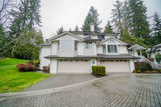 "Photo 1: 77 101 PARKSIDE Drive in Port Moody: Heritage Mountain Townhouse for sale in ""Tree Tops"" : MLS®# R2447524"