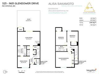 "Photo 40: 523 9651 GLENDOWER Drive in Richmond: Saunders Townhouse for sale in ""GLENACRES VILLAGE"" : MLS®# R2485278"