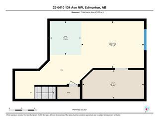 Photo 42: 23 6410 134 Avenue in Edmonton: Zone 02 House Half Duplex for sale : MLS®# E4225135
