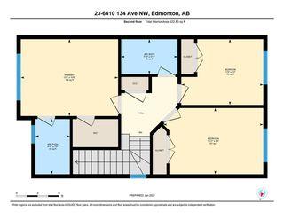 Photo 41: 23 6410 134 Avenue in Edmonton: Zone 02 House Half Duplex for sale : MLS®# E4225135