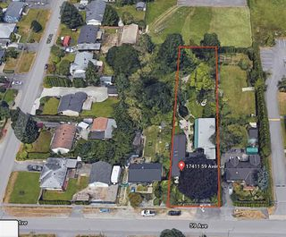 Photo 1: 17411 59 Avenue in Surrey: Cloverdale BC Land Commercial for sale (Cloverdale)  : MLS®# C8034261