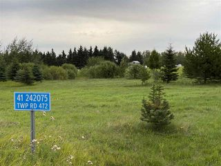 Photo 1: 41 242075 TWP RD 472: Rural Wetaskiwin County Rural Land/Vacant Lot for sale : MLS®# E4211566
