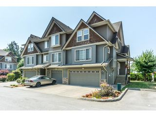 """Photo 1: 16 8880 NOWELL Street in Chilliwack: Chilliwack E Young-Yale Townhouse for sale in """"PARK SIDE"""" : MLS®# R2404652"""