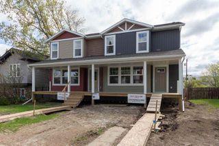 Photo 1: 9215 150 Street NW in Edmonton: Zone 22 House Half Duplex for sale : MLS®# E4198114