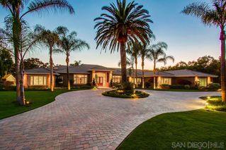 Photo 1: POWAY House for sale : 6 bedrooms : 15664 El Camino Entrada