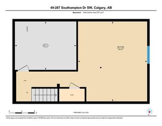 Photo 25: 49 287 Southampton Drive SW in Calgary: Southwood Row/Townhouse for sale : MLS®# A1059681