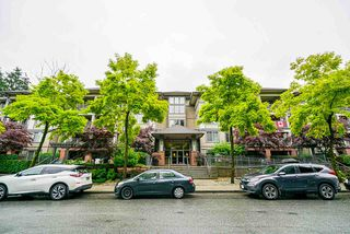 "Photo 1: 207 2468 ATKINS Avenue in Port Coquitlam: Central Pt Coquitlam Condo for sale in ""BORDEAUX"" : MLS®# R2448658"