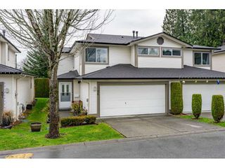 "Photo 1: 58 20881 87 Avenue in Langley: Walnut Grove Townhouse for sale in ""KEW GARDENS"" : MLS®# R2422844"