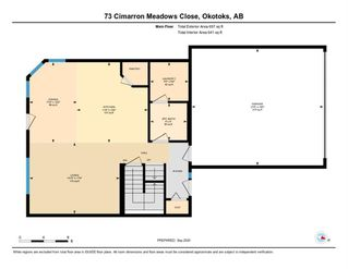 Photo 32: 73 CIMARRON MEADOWS Close: Okotoks Detached for sale : MLS®# A1032152