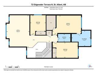 Photo 41: 72 EDGEWATER Terrace N: St. Albert House for sale : MLS®# E4219002