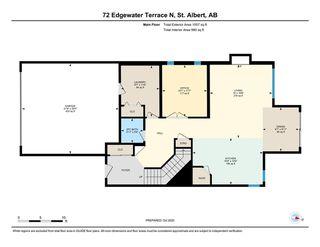 Photo 40: 72 EDGEWATER Terrace N: St. Albert House for sale : MLS®# E4219002