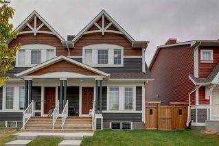 Main Photo: 161 AUBURN MEADOWS Way SE in Calgary: Auburn Bay Semi Detached for sale : MLS®# A1033923