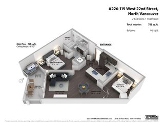 """Photo 20: 226 119 W 22ND Street in North Vancouver: Central Lonsdale Condo for sale in """"Anderson Walk"""" : MLS®# R2405099"""