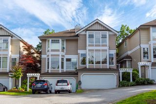 "Main Photo: 24 5950 OAKDALE Road in Burnaby: Oaklands Townhouse for sale in ""HEATHER CREST"" (Burnaby South)  : MLS®# R2474867"