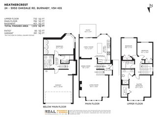 """Photo 40: 24 5950 OAKDALE Road in Burnaby: Oaklands Townhouse for sale in """"HEATHER CREST"""" (Burnaby South)  : MLS®# R2474867"""