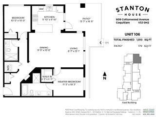 Photo 20: 106 609 COTTONWOOD AVENUE in Coquitlam: Coquitlam West Condo for sale : MLS®# R2451128
