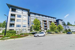 """Photo 1: 406 9877 UNIVERSITY Crescent in Burnaby: Simon Fraser Univer. Condo for sale in """"Veritas by Polygon"""" (Burnaby North)  : MLS®# R2519653"""