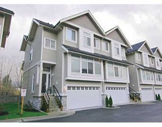 "Photo 1: 25 23343 KANAKA WY in Maple Ridge: Cottonwood MR Townhouse for sale in ""COTTONWOOD GROVE"" : MLS®# V571908"