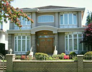 "Main Photo: 6638 FREMLIN ST in Vancouver: South Cambie House for sale in ""SOUTH CAMBIE"" (Vancouver West)  : MLS®# V592223"