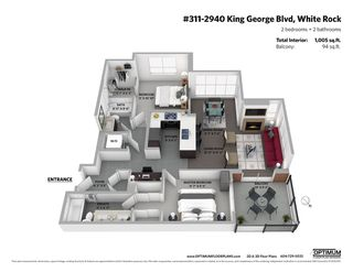 """Photo 20: 311 2940 KING GEORGE Boulevard in Surrey: King George Corridor Condo for sale in """"High Street"""" (South Surrey White Rock)  : MLS®# R2436716"""