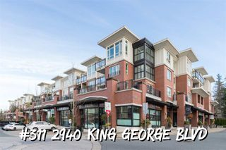 """Main Photo: 311 2940 KING GEORGE Boulevard in Surrey: King George Corridor Condo for sale in """"High Street"""" (South Surrey White Rock)  : MLS®# R2436716"""