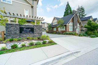 "Photo 1: 40 19913 70 Avenue in Langley: Willoughby Heights Townhouse for sale in ""Brooks"" : MLS®# R2421609"