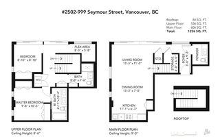 Photo 20: 2502 999 SEYMOUR Street in Vancouver: Downtown VW Condo for sale (Vancouver West)  : MLS®# R2428505