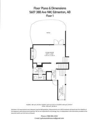 Photo 43: 5607 38B Avenue in Edmonton: Zone 29 House for sale : MLS®# E4209872