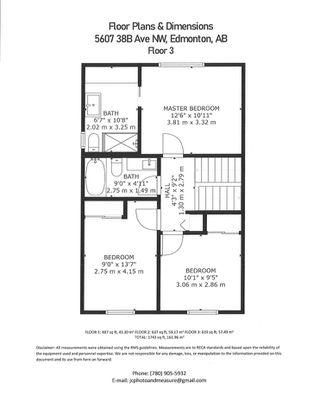 Photo 44: 5607 38B Avenue in Edmonton: Zone 29 House for sale : MLS®# E4209872