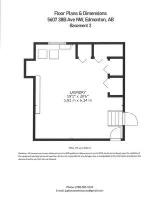 Photo 46: 5607 38B Avenue in Edmonton: Zone 29 House for sale : MLS®# E4209872