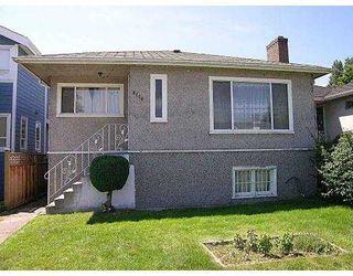 Main Photo: 3116 KINGS AV in Vancouver: Collingwood Vancouver East House for sale (Vancouver East)  : MLS®# V549170