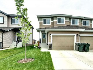 Photo 1: 1349 South Creek Link: Stony Plain House Half Duplex for sale : MLS®# E4165474