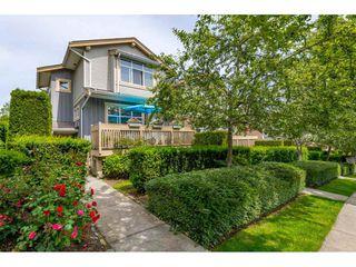 "Photo 1: 61 14959 58 Avenue in Surrey: Sullivan Station Townhouse for sale in ""SKYLANDS"" : MLS®# R2466806"