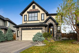 Photo 1: 36 Westpark Crescent SW in Calgary: West Springs Detached for sale : MLS®# A1045075