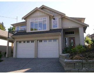 Photo 1: 823 NORTH Road in Coquitlam: Coquitlam West House for sale : MLS®# V610055