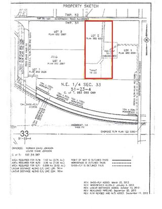 Photo 3: 23313 Twp Rd 520: Rural Strathcona County Rural Land/Vacant Lot for sale : MLS®# E4198567