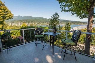 "Photo 1: 8 1560 PRINCE Street in Port Moody: College Park PM Townhouse for sale in ""Seaside Ridge"" : MLS®# R2495044"