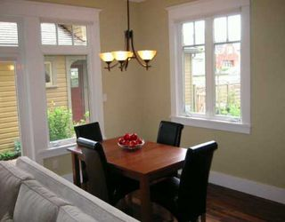 Photo 4: 3530 W 5TH AV in Vancouver: Kitsilano House 1/2 Duplex for sale (Vancouver West)  : MLS®# V594906