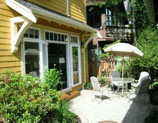 Photo 1: 3530 W 5TH AV in Vancouver: Kitsilano House 1/2 Duplex for sale (Vancouver West)  : MLS®# V594906