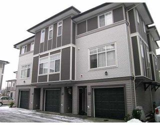 "Photo 1: 1010 EWEN Ave in New Westminster: Queensborough Townhouse for sale in ""WINDSOR MEWS"" : MLS®# V626135"