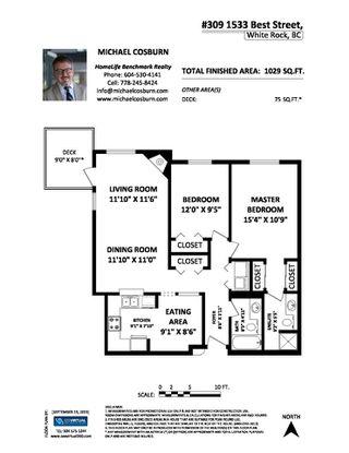 "Photo 20: 309 1533 BEST Street: White Rock Condo for sale in ""Tivoli"" (South Surrey White Rock)  : MLS®# R2406880"
