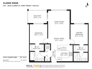 Photo 20: 310 2525 CLARKE Street in Port Moody: Port Moody Centre Condo for sale : MLS®# R2459092