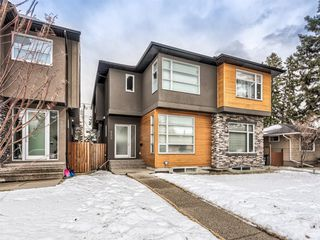Main Photo: 520 37 Street NW in Calgary: Parkdale Semi Detached for sale : MLS®# A1060280