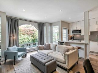 "Photo 1: 206 1100 W 7TH Avenue in Vancouver: Fairview VW Condo for sale in ""WINDGATE CHOKLIT PARK"" (Vancouver West)  : MLS®# R2467547"